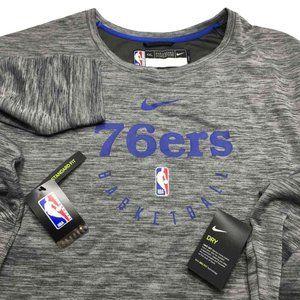 Philadelphia 76ers Warm Up Sweatshirt